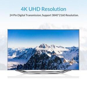 Image 5 - Unnlink DVI כבל DVI D 24 + 1 UHD 4K הכפול קישור ערוץ 1080P 144 זהב מצופה 1.5M 3M 5M 8M 15M עבור מחשב הטלוויזיה צג מקרן