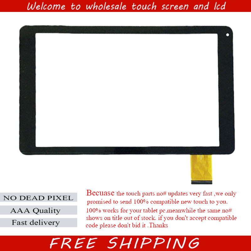 10.1 inch Capacitive touch screen code WJ922-FPC V2.0 V1.0 LH-3042 Glass Digitizer Sensor replacement