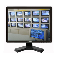 15 inch BNC HDMI VGA industrial security LCD monitor computer display AV