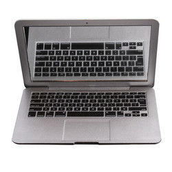 Зеркало MirrorBook Air, Серебряное мини-зеркало для макияжа Apple MacBook HB88