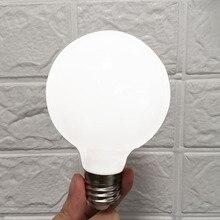 Fantasy Island Wide Pressure Bulb AC85-265V 5W E27 Warm White LED ball bulb Light G80 Lamp