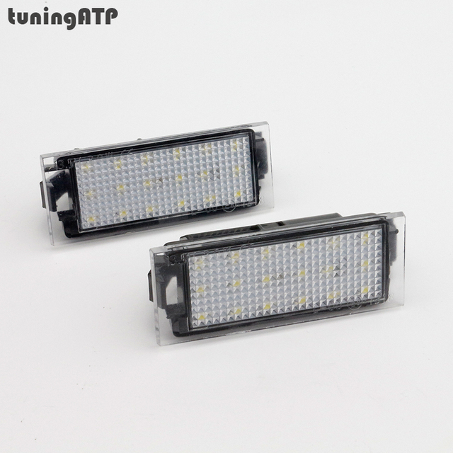 led license plate light lamps for renault clio iii clio iv laguna liftback master megane ii. Black Bedroom Furniture Sets. Home Design Ideas