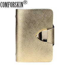 COMFORSKIN New Arrivals Quality ID Card Credit Holders 2018 Hot Fashion Brand Unisex Card Case Factory Price Direct Selling c20 id waterproof direct factory card