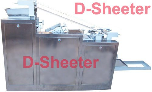 Fully automatic pasta sheet machine / Pasta machine Pasta line 3couples/220mm (DSS3220)