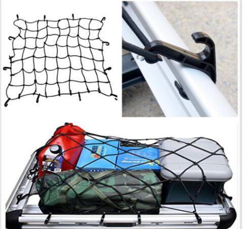 Cargo Mesh Spider Net Car Storage Boot Elastic Bungee Hook Fixing