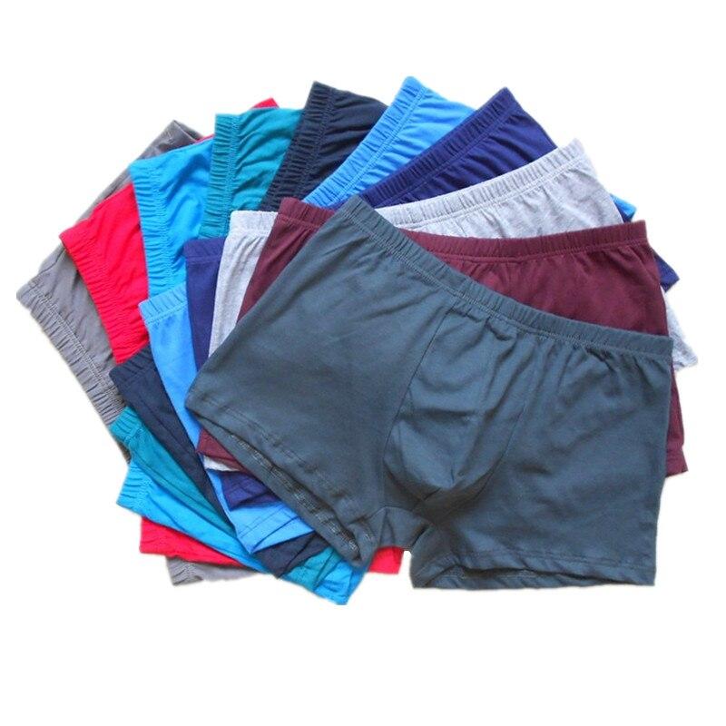 Boxer 5 Teile/sätze Unterwäsche Männer Baumwolle Boxer Männer Boxer Plus Größe Vogue Höschen Shorts Hohe Qualität Kurze Hosen Unterwäsche Herren-unterwäsche