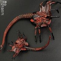 Alien VS Predator Alien Egg Queen Facehugger Worm Movie Ornament Hand Model Action Figure NECA