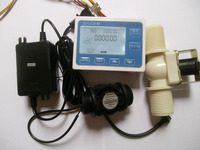 G1」水流制御lcdディスプレイ+フローセンサ+電磁弁+電源アダプタ