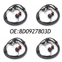 New 4pcs Front ABS Wheel Speed Sensor Suit Fits AUDI A4 Skoda Superb VW Passat 8D0927803D 4B0927803C 8D0927803B 4B0 927 803C