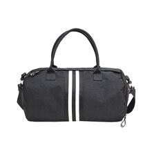Amasie простой дизайн большой Ёмкость Для женщин унисекс Дорожная сумка Мода сумка Для мужчин большой, сумка EGT0202