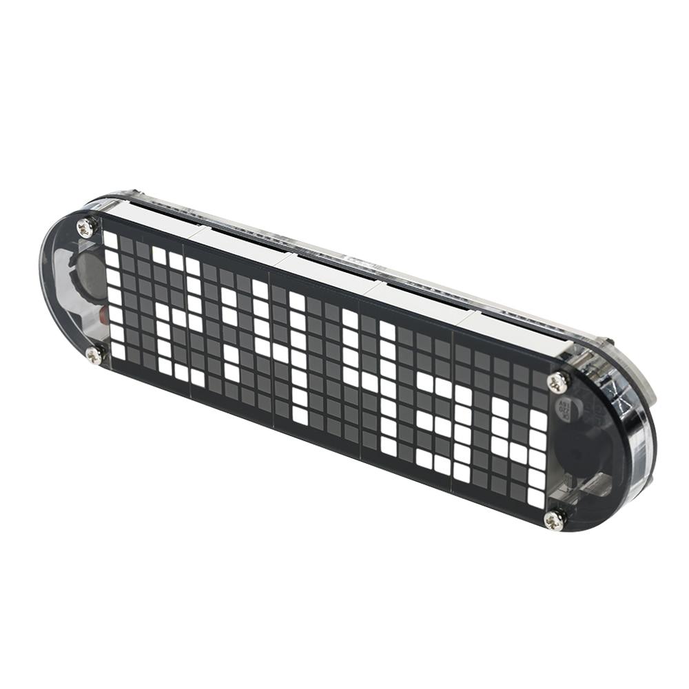 DS3231 High Accuracy DIY Digital Dot Matrix LED Alarm