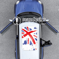 Union Jack Flag D D Q Auto Roof Decal Sticker One way vision sticker