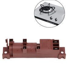 220-240V Gas Stove AC Pulse Lgniter With Six Terminal Connections Safe Tool цена