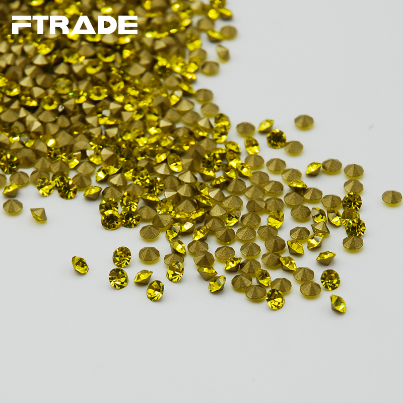 Free Shipping SS4 SS20 DIY Point Back loose Rhinestones Citrine Color  Chaton Strass HOT Sale Stone-in Rhinestones from Home   Garden on  Aliexpress.com ... 256f7a18dbbf