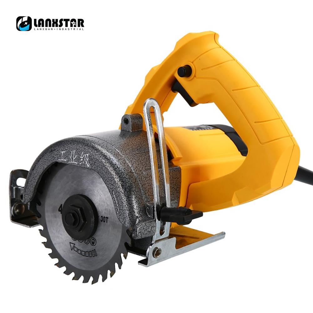 Doersupp 220v 1250w Hand Electric Marble Saw Cutter Stone Grooving