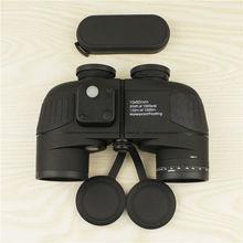 Powerful military font b binocular b font 10X50 waterproof digital compass font b binoculars b font