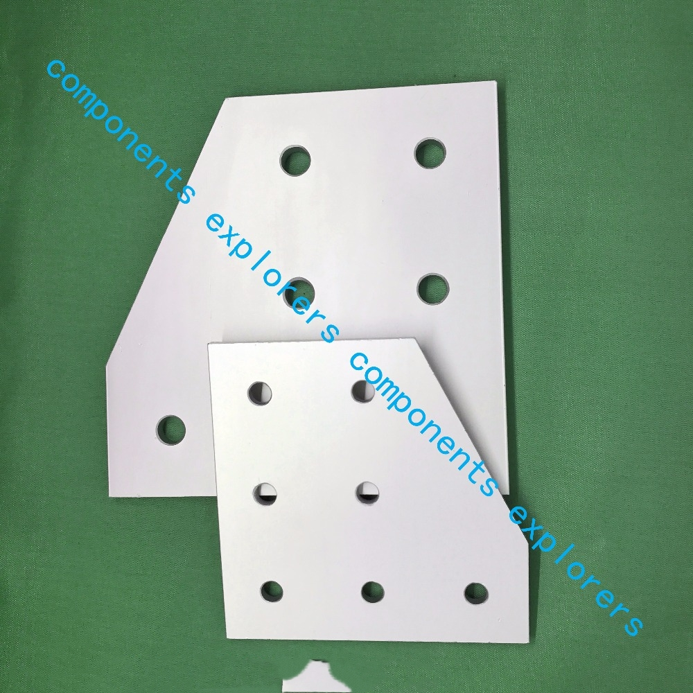 4080L-7-connection plate for reinforcement of profiles,10pcs/lot. пилочка для ногтей leslie store 10 4sides 10pcs lot