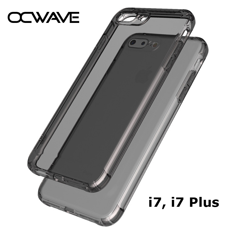 for iPhone 7 case 7 Plus 8 Plus thick silicone TPU material with small camera hole SHOCK RESISTANCE covers