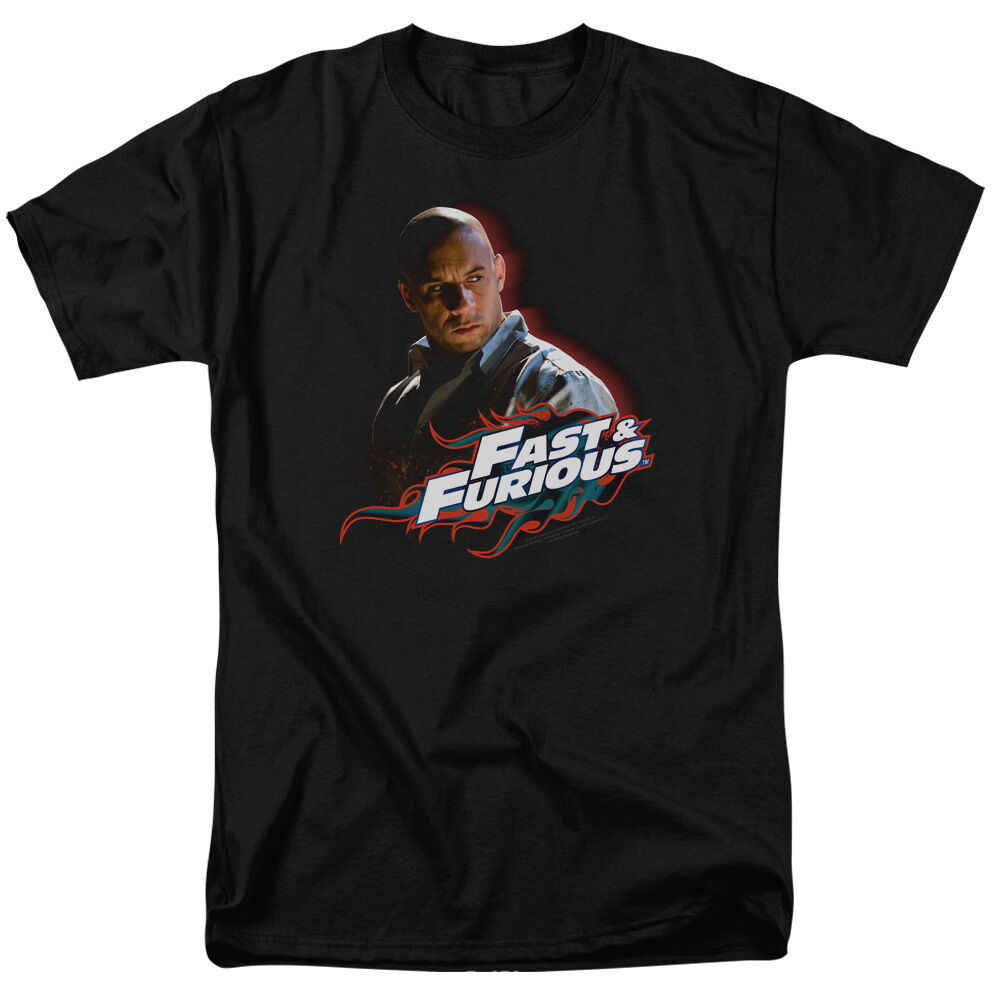 Fast and the Furious Toretto Vin Diesel Licensed Tee Shirt Adult Sizes S-3XL