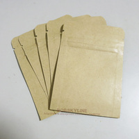100pcs 7 10cm Blank Kraft Paper Bags With Alumizing Inner Food Tea Packaging Bag
