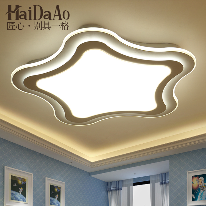 ceiling light modern minimalist personality study of children's light romantic balcony remote control master bedroom study of pose