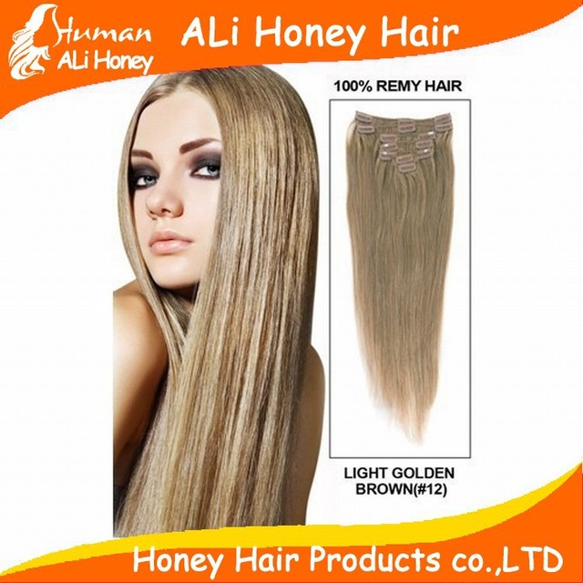 10 24 Virgin Remy Hair Clip In Malaysia Straight Human Hair