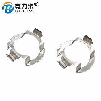 H7 Metal clips retainer adapter for Audi headlight bulb holder base AUDI A1 A3 A4 A5 A6 A7 A8 R8 Q3 Q5 Q7 TT