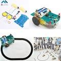 D2-1 DIY Комплект Умный Отслеживания Линии Smart Car Kit Набор ТТ Мотор Электронного Производства Смарт Patrol Автомобильных Запчастей