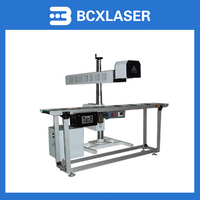 High quality wholesale price 50W fiber online fly Laser marking machine for sale