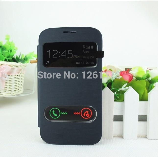 Para Samsung Galaxy Grand Duos i9082 i9080 Ver ventana abierta flip - Accesorios y repuestos para celulares - foto 3