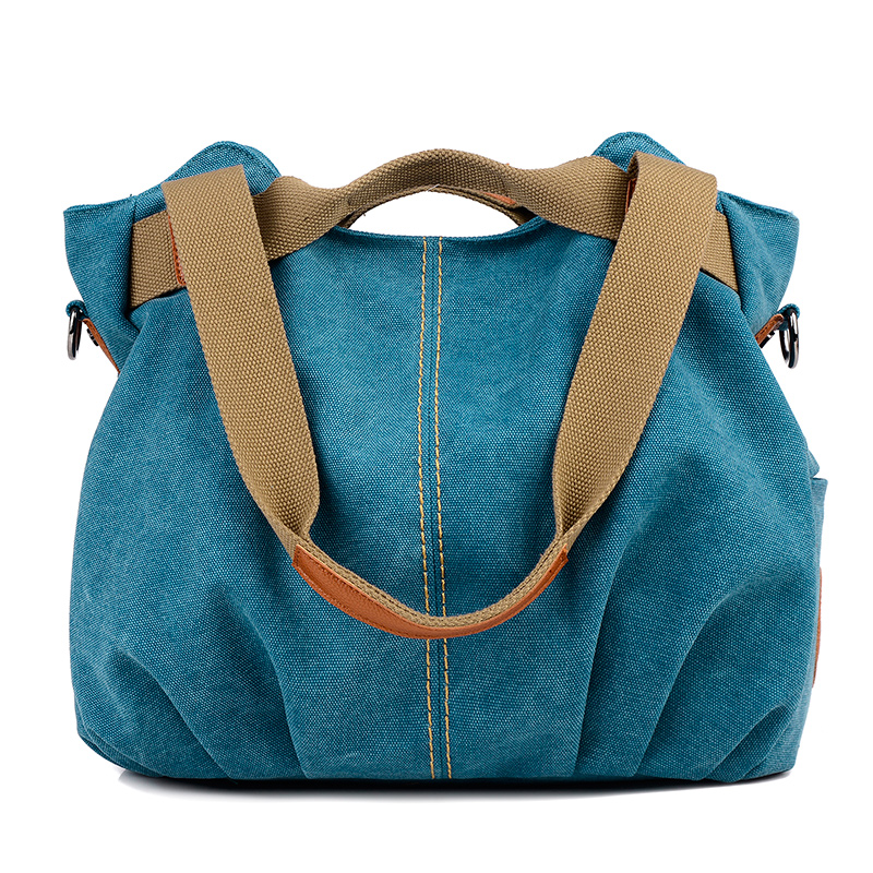 High Quality Women Canvas Handbags Female Messenger Bags Tote Clutch Bolsas Femininas La ...