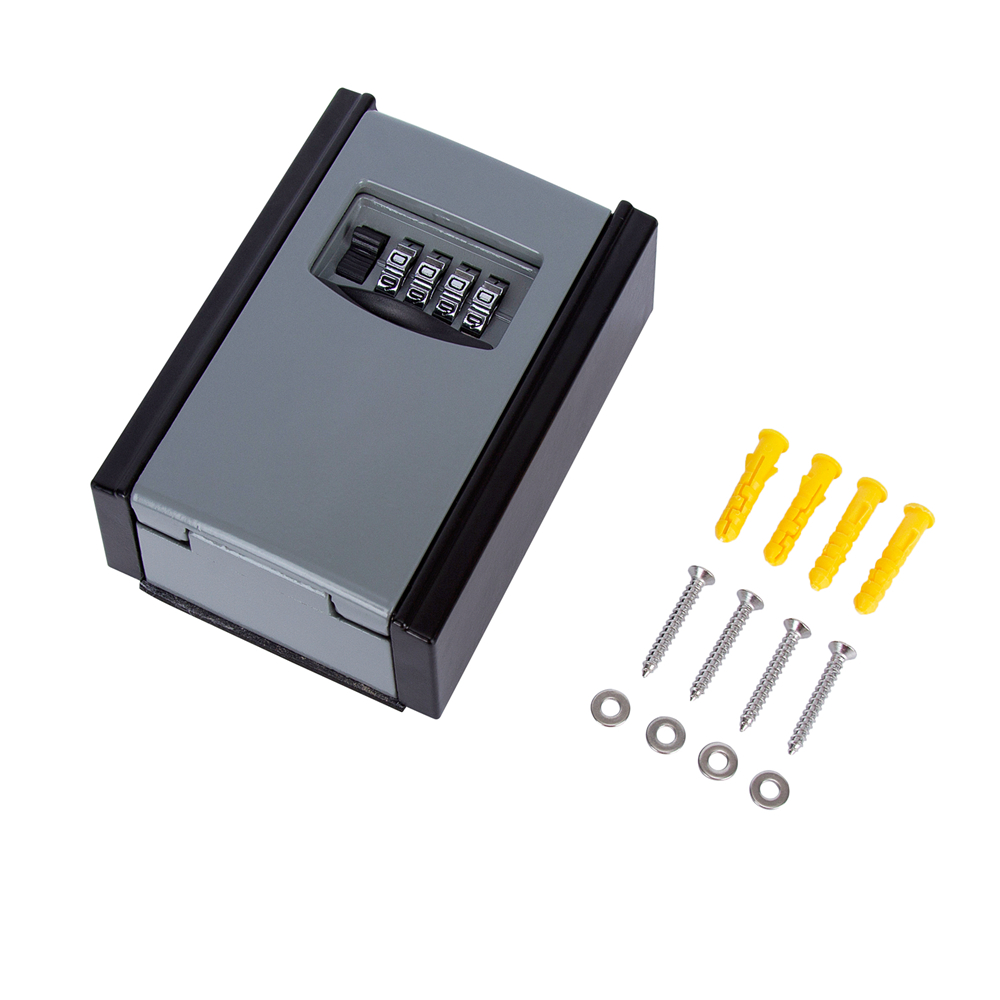 20pcs Portable Key Password Lock Box Key Safe With Long