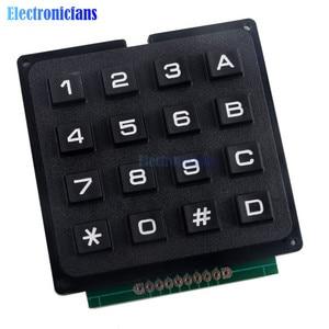 Image 4 - 4x4 مصفوفة صفيف 16 مفاتيح 4*4 التبديل لوحة المفاتيح وحدة لوحة المفاتيح لاردوينو