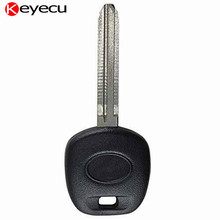 Keyecu Transponder Key Fob With 4D 72 G Chip for Toyota Venza Tundra Tacoma Sienna Sequioa