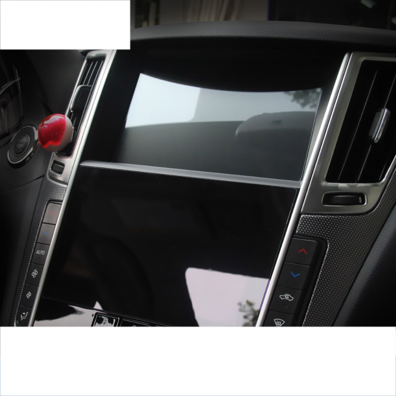 lsrtw2017 car GPS navigation screen anti scratch protective toughened film for infiniti qx50 q50 q70 q60 qx70 qx60 qx80 in Interior Mouldings from Automobiles Motorcycles