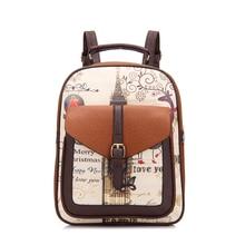 Женские рюкзаки модные кожаные путешествия рюкзак школьные сумки для отдыха Mochila Feminina сумка для девочек-подростков женские BP0039