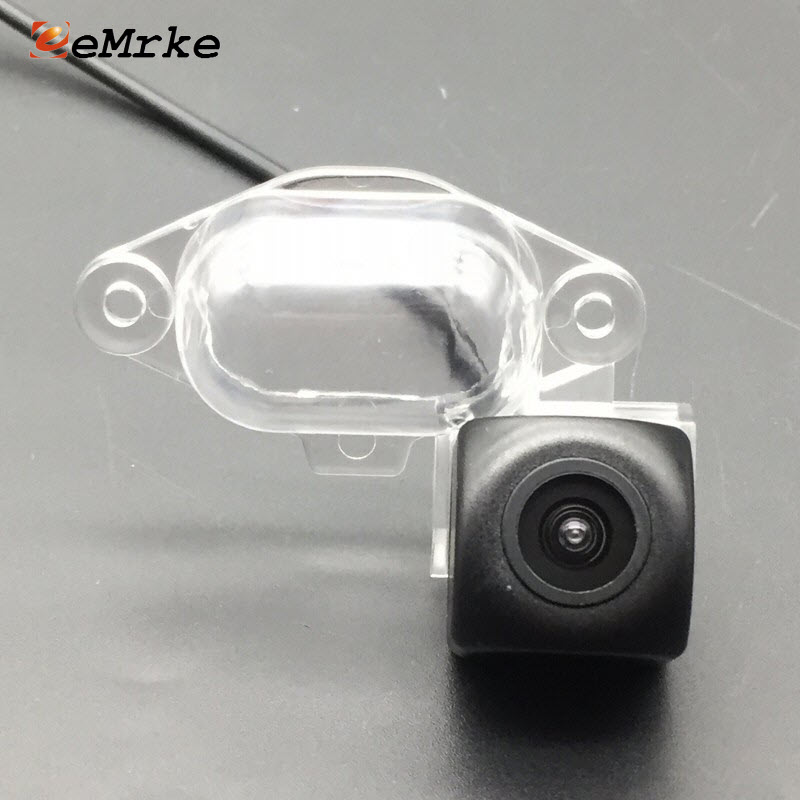 EEMRKE cámara trasera del coche 1280*720 HD CCD visión nocturna cámara de marcha atrás Estacionamiento de reserva para Nissan x-trail Xtrail X Trail T30 '01-'07