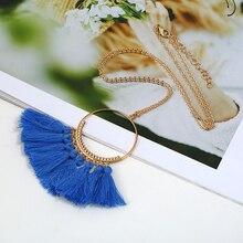 Bohemian Long Tassel Necklace For Women