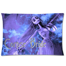 Outstanding Corpse Bride Design Rectangle Polyester Pillow Case Soft Pdpeps Interior Chair Design Pdpepsorg