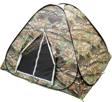 Camouflage 3-4 personne regardant oiseau chasse toilette Dressing Pop Up Portable UV randonnée voyage Faimly fête en plein air Camping tente