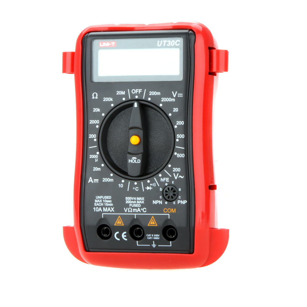 UNI-T UT30C  Original Authentic Data Handed Hold Digital Multimeters Temperature Test