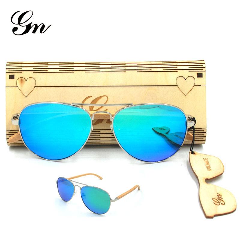 HTB1QBdgerYI8KJjy0Faq6zAiVXag - G M Sunglasses  Women Brand Design Mirror Sun Glasses  Wood Sunglasses