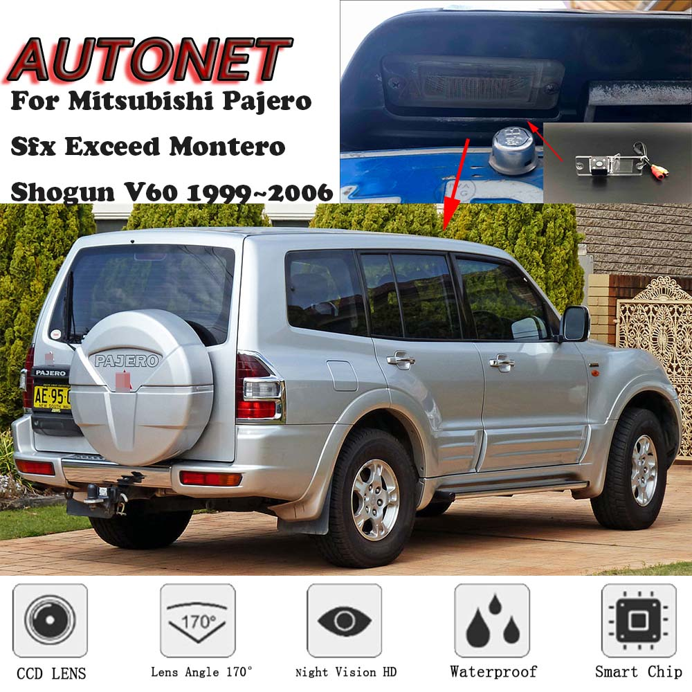 AUTONET Backup Rear View Camera For Mitsubishi Pajero Sfx Exceed Montero Shogun V60 1999~2006 CCD/Night Vision/parking Camera