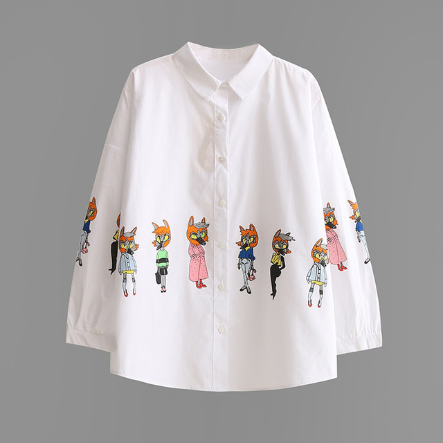 Blouse White Shirt Women Size S-L Ladies Office Shirts Formal & Casual Cotton Blouse Fashion Blusas Femininas