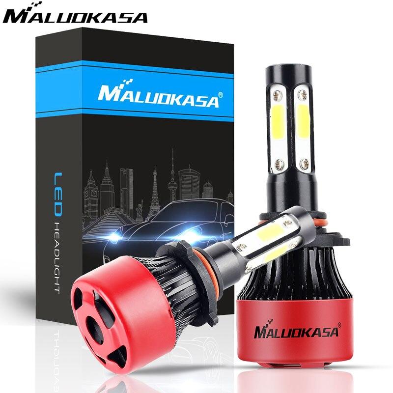 360 Degree Car Headlight H7 LED H4 H8 H11 H13 HB2 HB3 HB4 HB5 9004 9005 9006 9007 9008 9012 72W Auto Headlamp 6500K Light Bulb