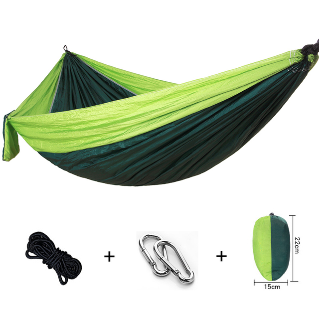 Clearance Portable Camping Parachute Hammock Indoor Furniture Hanging Chair Swing Dormitory Soft Leisure Sheets Double