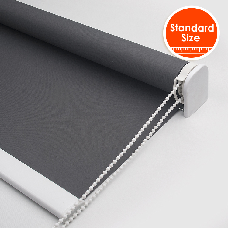 High Quality 38mm Thicken Tube Blackout Roller blinds for bedroom strong With Drill Full Shade Window