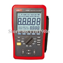 цена на UNI-T UT620B Hi-Accuracy 0.25% Kelvin Four-Wire DC Low Resistance Wire Length Tester Micro Ohm Meter Min. Resolution 1u Ohm USB