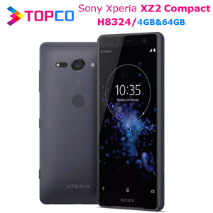 Sony Xperia XZ2 Compact H8324 Original Unlocked 4G Android Mobile Phone H8324 Octa Core Dual SIM 5.0