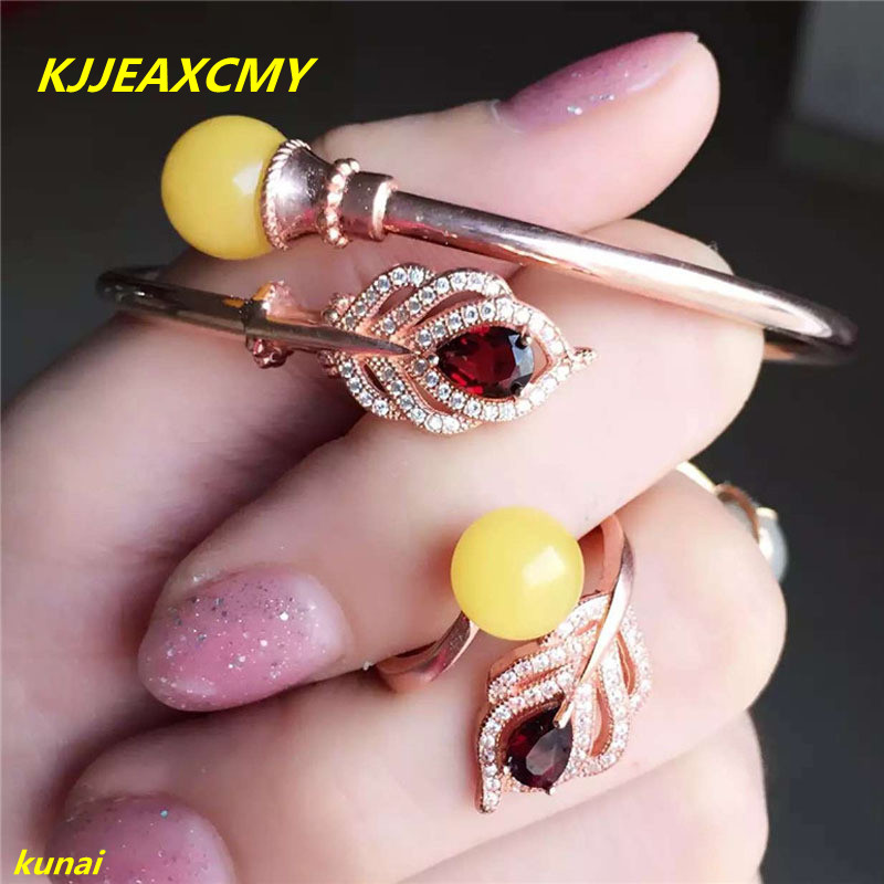KJJEAXCMY 925 sterling silver jewelry boutique natural amber beeswax women set jewelry bag mail 925 silver real natural big 925 sterling silver large circle of natural seawater pearl oyster jewelry bag mail to send his girlf